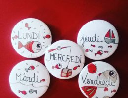 badges poissons